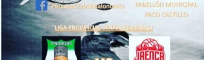Baloncesto: Porcuna Arte Ibérico – Jaén CB