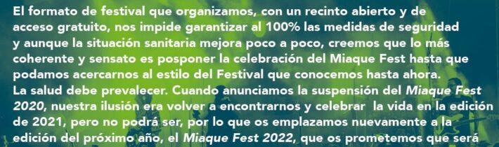 MíaQué FEST 2020