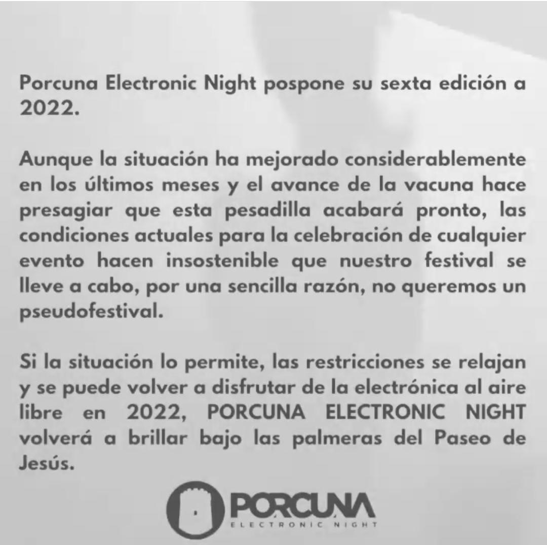 Porcuna Electronic Night