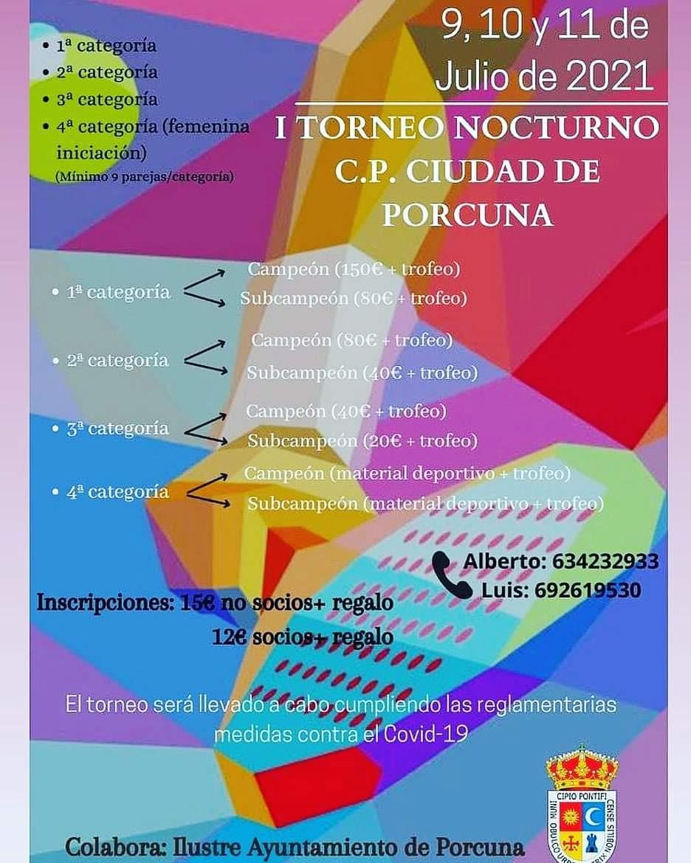 I Torneo de Padel Ciudad de Porcuna