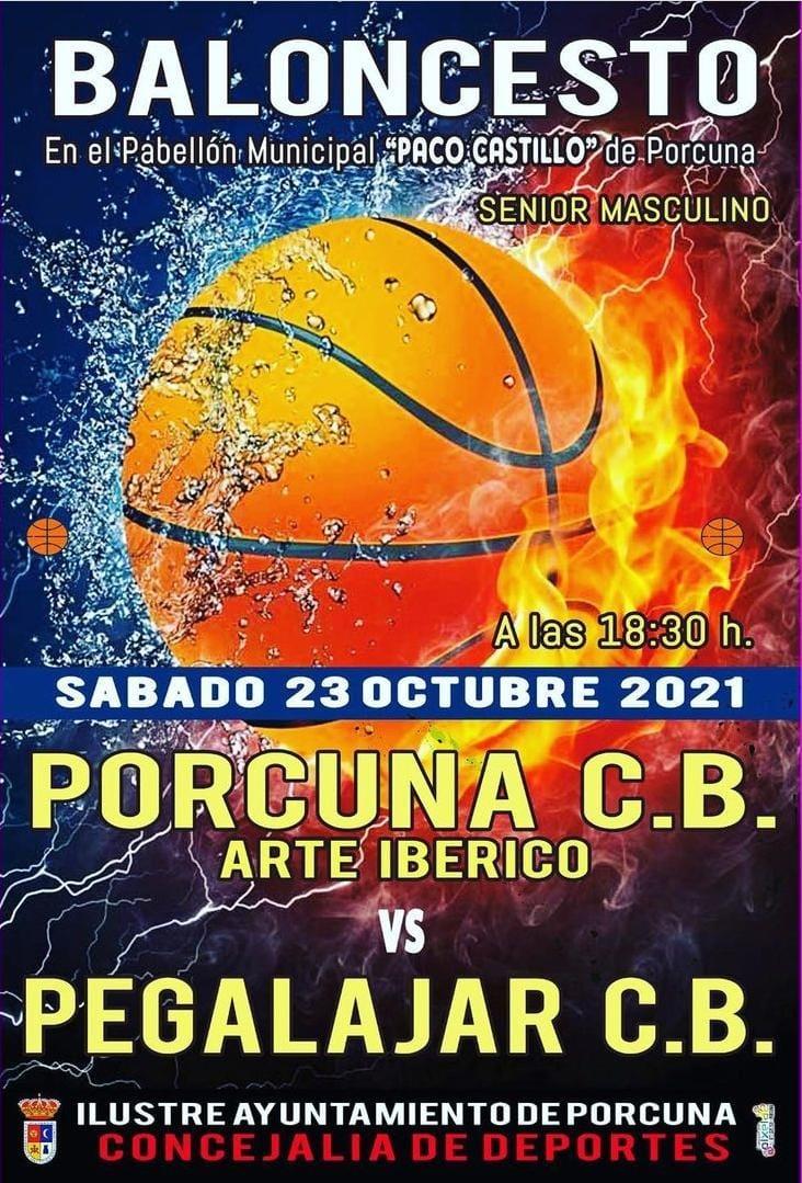 Baloncesto: CB Porcuna Arte Ibérico - Pegalajar CB