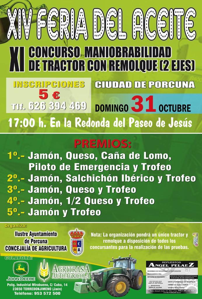 XI Concurso de Maniobrabilidad de tractor